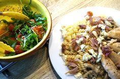 #Hungry: Pasta met roomsaus, ham en blauwe kaas.