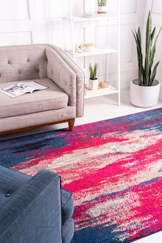 Shop our Barcelona Collection to create stunning colorful decor styles in your living room! Yellow Home Accessories, Home Interior Accessories, Bedroom Accessories, Interior Design, Accessories Online, Decorative Accessories, Modern Rugs, Modern Decor, Modern Living