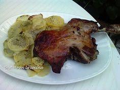 Receta PIERNA DE CORDERO AL HORNO (estilo segoviano) para gástalo en la cocina