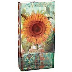 Sunflower vase.  I just love this!