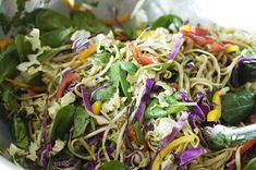 "Just ate this Asian Noodle Salad at a restaurant, and so delish I had to get home & look up the recipe. Luckily the menu actually credited the ""Pioneer Woman"" website."