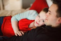 This is what I did every night when I was pregnant... I love a natural pose for maternity photos