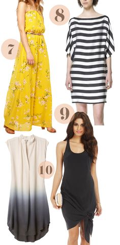 10 HOT Summer Dresses