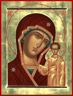 Библиотека / Казанская икона Божией Матери- Православный журнал Благодатный огонь