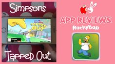 Simpsons Tapped Out Review [What App Wednesday] | Rachybop