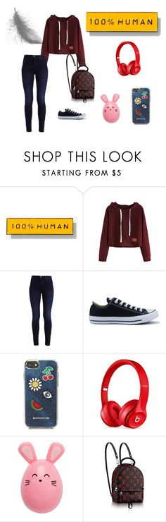 """""""N°37"""" by carmis-leon on Polyvore featuring moda, Everlane, Converse, Rebecca Minkoff y Beats by Dr. Dre"""