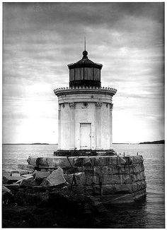 Portland Breakwater Lighthouse, South Portland, Maine Gerda Peterich, September 1962