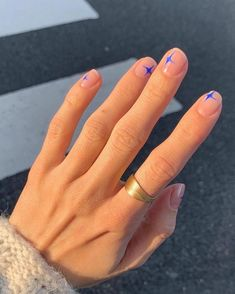 Make an original manicure for Valentine's Day - My Nails Cute Acrylic Nails, Cute Nails, Pretty Nails, Minimalist Nails, Minimalist Fashion, Nail Swag, Nails Ideias, Hair And Nails, My Nails