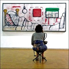 "phillip guston | Philip Guston ((1913-1980) ""Au lit / In bed"", 1971. Sourcing image ..."