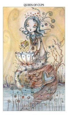 The Art of Paulina Cassidy, queen of cups