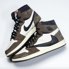 separation shoes f603f 75c21 Air Jordan 1 Travis Scott CD4487-100 Release Date Nike Air Jordans, Air  Jordan