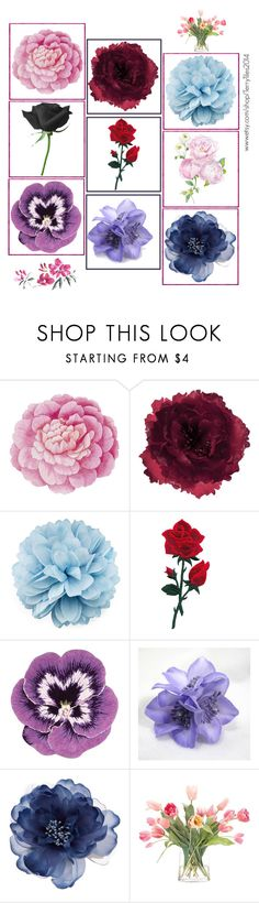 """I love flowers!!"" by wonderfullyawesome ❤ liked on Polyvore featuring Ballard Designs, Accessorize, Gucci, Nourison and NDI"