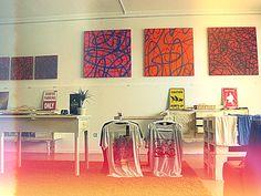 "Surf Leça_Surf Shop_Art Gallery_Leça da Palmeira_Portugal. ""SURFSET""art exhibition by Catarina Machado. Photo:Filipa Costa"
