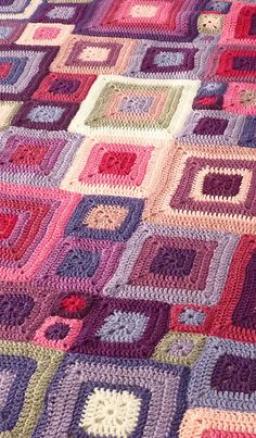 Crazy Patchwork PDF Pattern & Tutorial By Olivia Rainsford (Ravelry), Free