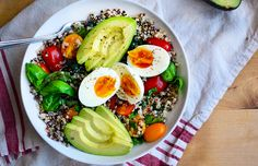 Savory Breakfast Quinoa Bowl