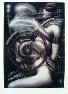 H.R. Giger - Biomechanoid Deus Ex Machina, Danse Macabre, Cyborgs, Robots, Robot, Robotics