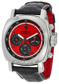 Panerai Ferrari Granturismo Chronograph Mens Watch FER00013 $5,700
