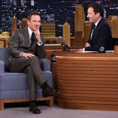 Michael Fassbender will be on the tonight show starring jimmy Fallon on July 26 💞 😘😘😘