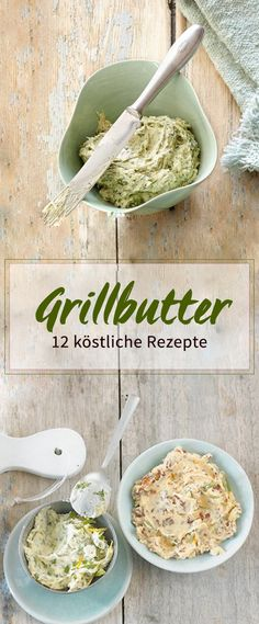 Ob mit Rosmarin, Tomate oder Chili: Kräuterbutter gehört auf jeden Grillteller… Sponsored Sponsored Whether with rosemary, tomato or chili: herb butter belongs on every grill plate. Barbecue Recipes, Grilling Recipes, Crock Pot Recipes, Chicken Recipes, Grill Party, Bbq Grill, Yummy Food, Tasty, Herb Butter