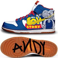 Toy story sneakers! Awesomee