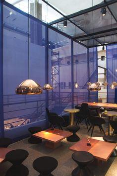 Restautant I Hotel I Eating I Void Light Lighting by Tom Dixon