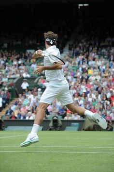 Roger Federer Forehand From The Side
