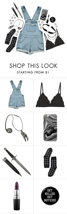 """""""Untitled #1071"""" by floodrats ❤ liked on Polyvore featuring Boohoo, Cosabella, Bjørg, Samsung, Monki and MAC Cosmetics"""