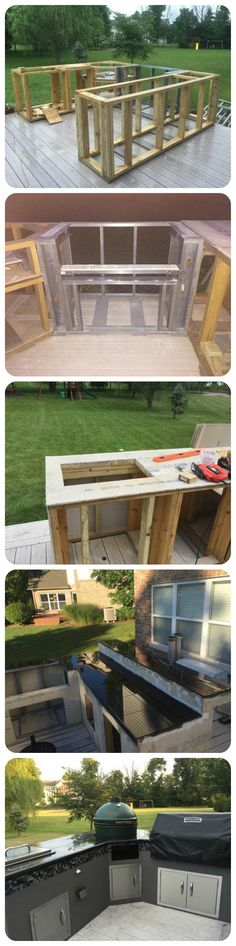 A boring deck or a cool outdoor kitchen?
