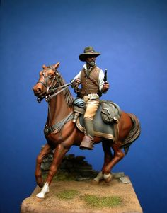 ✩ Check out this list of creative present ideas for beard lovers Anatomy Sculpture, Sculpture Art, Military Figures, Military Art, Native American Models, Black Cowboys, 3d Models, Plastic Models, Victorian Steampunk