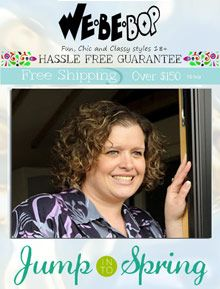 WeBeBop INC Chic plus size fashions, tops and women's dresses for work or for play  Fill your closet with easy to wear plus size dresses and apparel, featuring styles that are fun, chic and classy, available in sizes 18 and up.