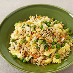 Weight watchers fried rice! Dinner or tonight...only 4 points =]
