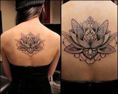 Significado da tatuagem: Flor de Lótus