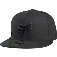 Amazon.com  Fox Racing Tune Up New Era Men s Fitted Casual Wear Hat - Black    Size 7 1 2  Automotive aea1dfdfa2af