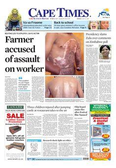 News making headlines: Farmer accused of assault on worker