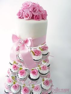 Pretty...i even have this dessert stand and never thought to do this!!!  Yay!!