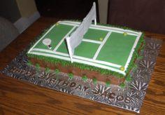 Tennis cake!!!!