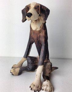 Contemporary animal sculptures - Virginia Dowe-Edwards