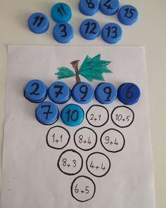 Folder game addition - Make Math Stick - Math Game For Kids - No Time For Flash. - Folder game addition – Make Math Stick – Math Game For Kids – No Time For Flash Cards - Easy Math Games, Math Games For Kids, Toddler Learning Activities, Preschool Activities, Kids Math, Math Math, Maths For Children, Continents Activities, Learning Games For Preschoolers