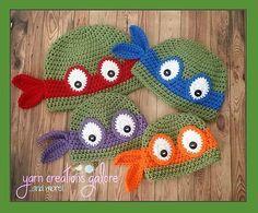 Ravelry: Ninja Turtle Hat pattern by Jaley Davis