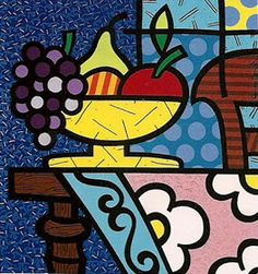 Modern Paintings Paintings and Drawings: Modern paintings by Romero Britto for BODEGONES kitchens – bestvalentinesdaygifts. Pintura Graffiti, Graffiti Painting, Graffiti Art, Famous Pop Art, Famous Artists, Cubism Art, Absolut Vodka, Country Art, Mural Art