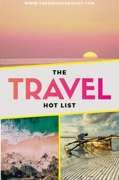 Awesome Travel Destinations for each month I Travel tips I Bucket list #travel #traveldestinations #traveltips