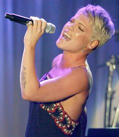 The excellent singer/songwriter Pink