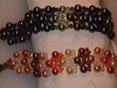 Instant Download! Woven shell pearl braceletsPattern