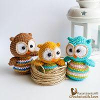 Crochet with Love. PonomarenkoHM: Вилупаті совенята