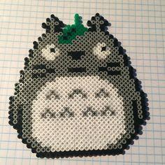 Totoro hama beads by lolocop