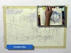How to Paint Cloudy Skies (Watercolors)