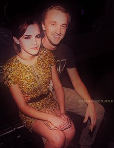 tom felton and emma watson. They need to     get married!!!