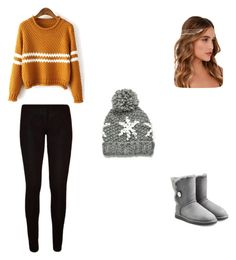 """""""Untitled #28"""" by chatham-s-m ❤ liked on Polyvore featuring UGG Australia and Lulu*s"""