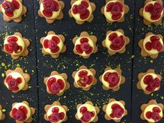 Tartelletes vanille-framboise Food Fantasy, Canning, Raspberry, Vanilla, Pastry Chef, Home Canning, Conservation