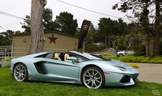 Copped with 6.5-liter V-12 engine rates 691 horsepower, #2015LamborghiniAventador is one of the fastest cars in the world which can go 0-60 mph acceleration in under 3.0 seconds.